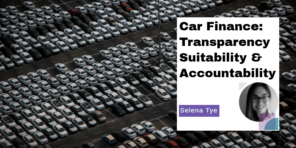 Are personal contract plans going to cause a mis-selling scandal in motor finance?
