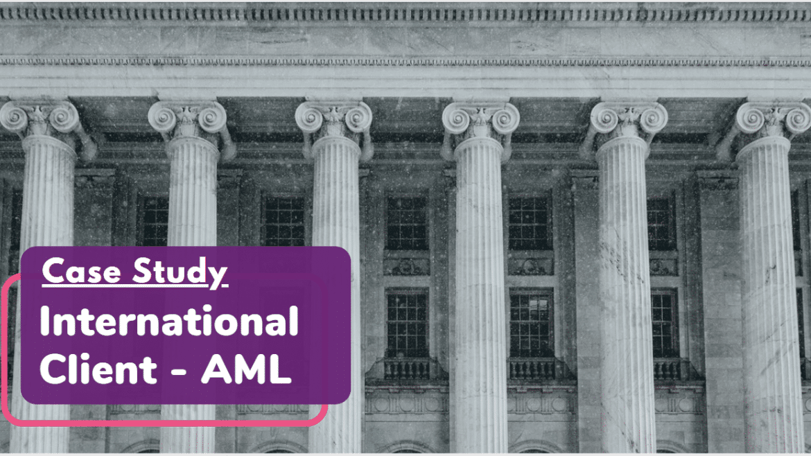 AML International Case Study Header